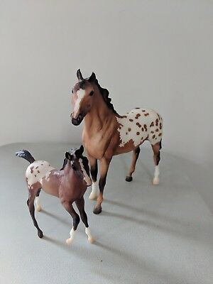 Breyer Horses Appaloosa Mare with Foal Set and Stallion