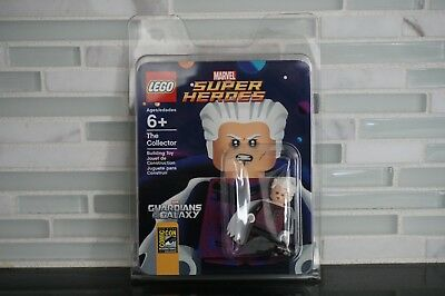 Lego Sdcc Comic Con 2014 Exclusive The Collector Minifigure New Marvel