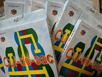 Cul-De-Sac Job Lot 10 Games The 2 Player Strategy Game Stocking Filler 70p Each!