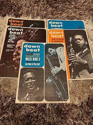 5 X Down Beat Magazines 1967 (See Description For Dates)