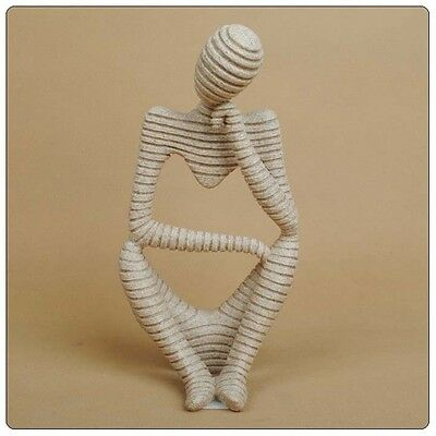 Synthetic Resin Abstract Carving Statue Sculpture Hand Carved Figurie Home Decor
