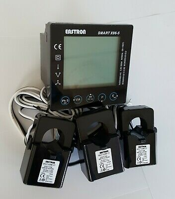 Electric Smart Meter TCP/IP modbus kWh energy and power analyser