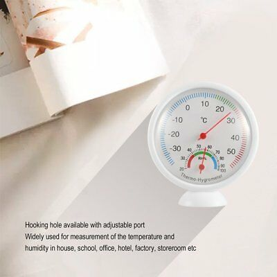 WS-A1 Indoor Outdoor Thermometer Hygrometer Portable Plastic Thermohygrometer&#