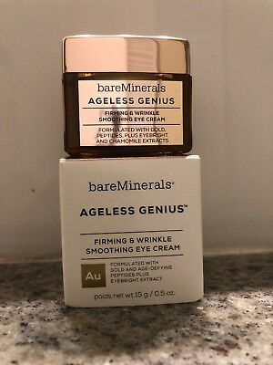 f566b031d587 BareMinerals Ageless Genius Firming   Wrinkle Smoothing Eye Cream 0.5oz NIB