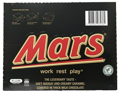Mars Bar 53g Box of 48 (BBD: 08/07/19)
