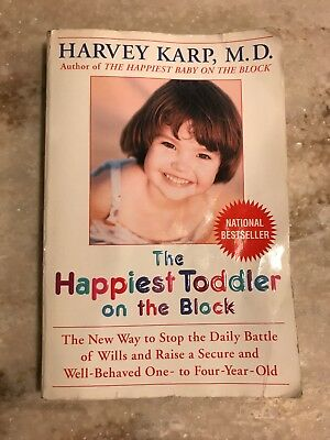 The Happiest Toddler On The Block Paperback Book Harvey Karp M.D.