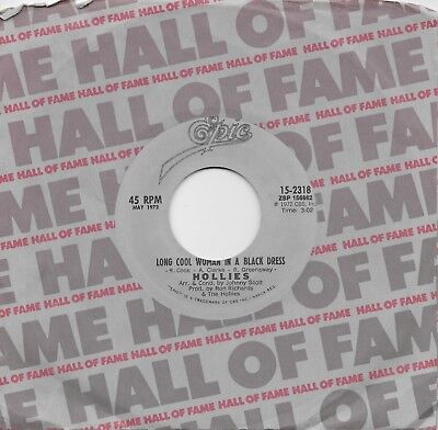 The Hollies Long Cool Woman In A Black Dress Long Dark Road 45