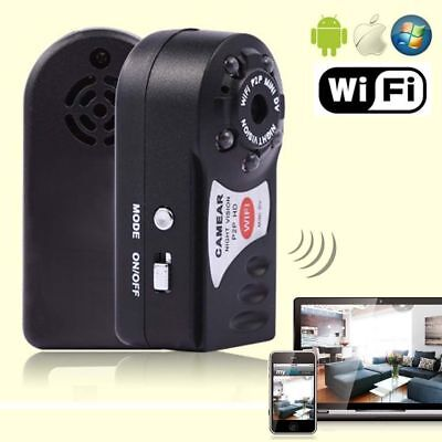 2017 Wireless Wifi P2P Mini Cam IP Spy SurveillaP~e Camera For iPhone Android NP