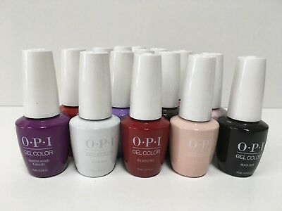 OPI GelColor *New* Gel Nail Polish Soak-Off 0.5fl.oz *You Pick*