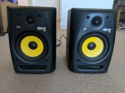 KRK Rokit 6 G2 Active Studio Powered Monitor Speakers