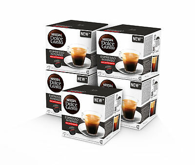 NESCAFE Dolce Gusto Decafe lovers bundle: 5 boxes ESPRESSO INTENSO DECAFFEINATO