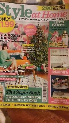 """January 2019 """"Style at Home"""" magazine ~ Christmas issue ~"""