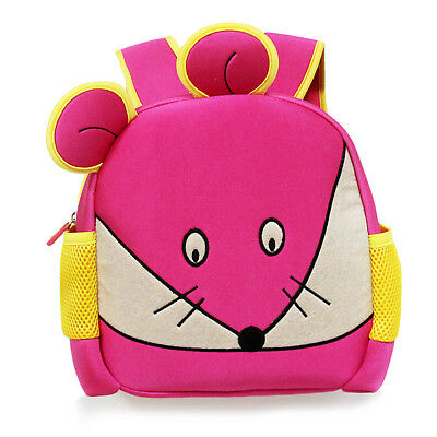 NEW Pink mouse Cartoon Preschool Backpack for Kids Little Toddler Mini Cute Bag