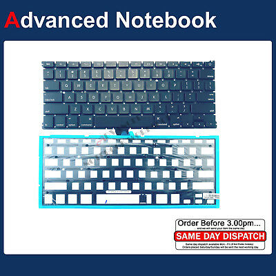 "Backlit Keyboard for Apple MacBook Air 13"" A1369 2011 2012 A1466 2013 - 2017 US"