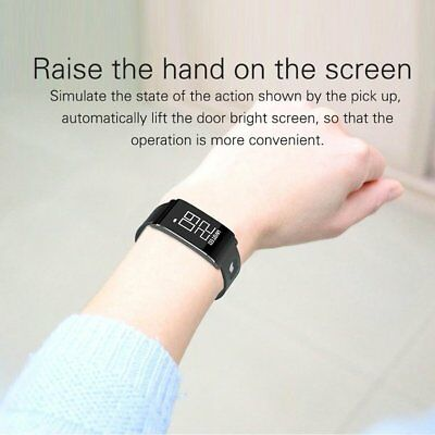 Ultra-thin Smart Wristband Fashion Waterproof Bluetooth Fitness Watch N1 NQ