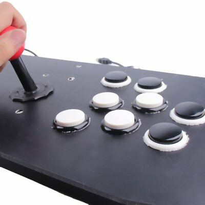 Ergonomic Design Double Arcade Stick Video Game Joystick Controller Gamep NQ
