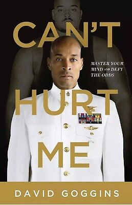 Cant Hurt Me: Master Your Mind & Defy the Odds by David Goggins-Hardcover-NEW