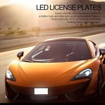 2 Pcs LED Car License Plates with High Brightness LED Strips for Japan C NQ