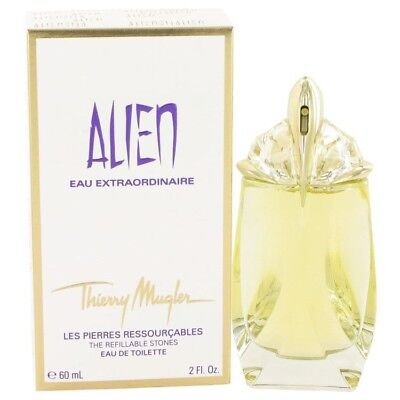 Alien Eau Extraordinaire Thierry Mugler EDT Spray Refillable 2 oz / 60 ml (F)