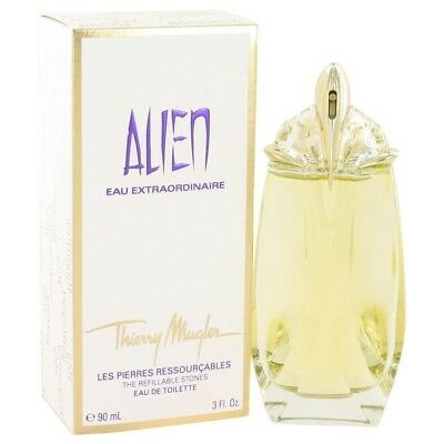 Alien Eau Extraordinaire Thierry Mugler EDT Spray Refillable 3 oz / 90 ml (F)