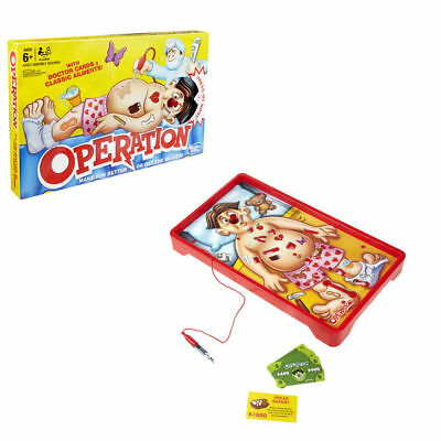 Operation Classic Children's Family Game Hasbro Kids Toy Gift