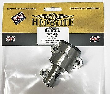 Hepolite Oil Pump - BSA A7/A10/Rocket Gold Star
