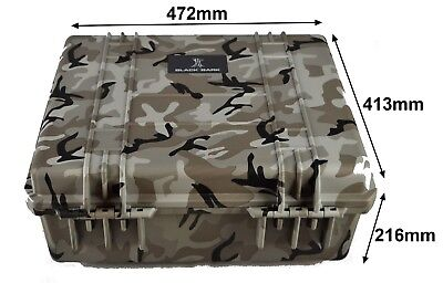 Camoflage tough case, pluck foam dustproof waterproof BB-2730