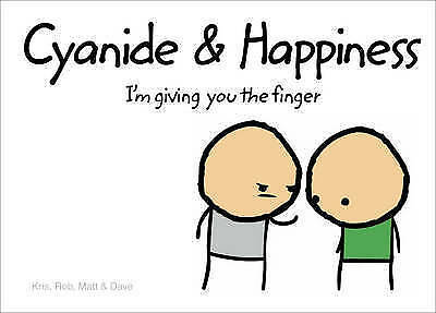 Cyanide and Happiness. Funny book with adult jokes, Hardback