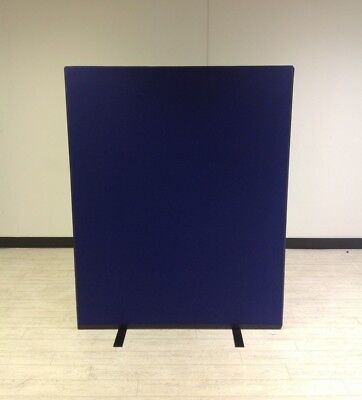 1200W x 1500H Royal Blue Woolmix PanelWarehouse Office Screen Divider Partition