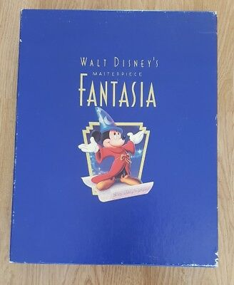 Walt Disney's Masterpiece Fantasia - Sealed VHS - Collectors
