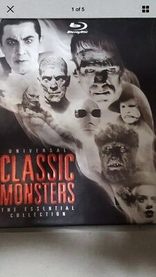 Universal Classic Monsters: The Essential Collection Blu-ray 8-Disc Set