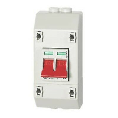 WYLEX 100A DP ISOLATOR WITH ENCLOSURE*free fast delivery*