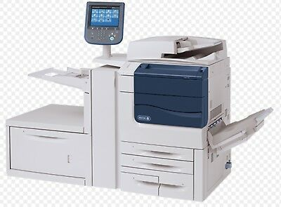 XEROX. C550 PRINTER With ADVANCED FINISHER & SRA3 HCF Breaking For Parts