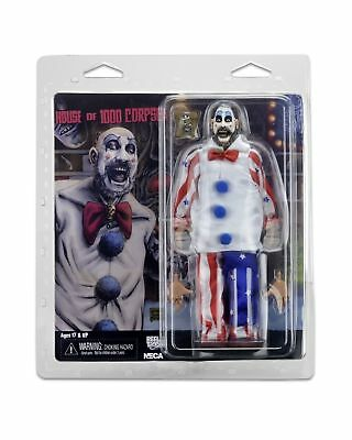 "House of 1000 Corpses Captain Spaulding Retro Clothed NECA 8"" Figure"