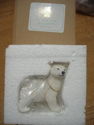 Country Artists First Adventures Polar Bear Cub Figurine New Boxed CA04191