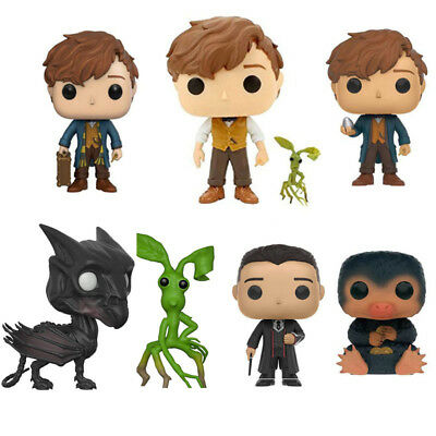 Movie Fantastic Beasts and Where to Find Them Newt Figure Funko POP Keychain