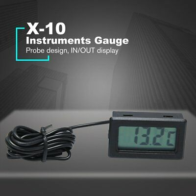 X-10 Embedded thermometer electronic temperature Tester meter Refrigerator RC