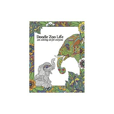 Tree Free Zoo Doodle Life Colouring Book