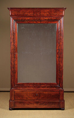 Antique Small French Wardrobe or Press Cupboard c.1830.