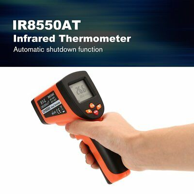 IR8550AT Laser LCD Digital IR Infrared Thermometer Temperature Gun Thermomete RC