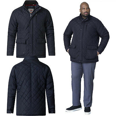 22c172f60acd Duke D555 Big Tall King Size Mens Justin Quilted Jacket Soft Padded Winter  Coat