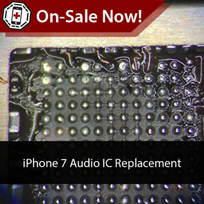 iPhone 7 / 7 Plus Audio IC Repair + Replacement - No Voice Memo / Boot Loop