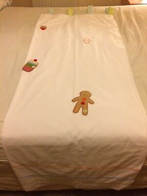 Mamas And Papas Gingerbread Theme Tab Top Curtains