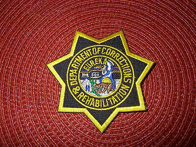 California Department of Corrections and Rehabilitation  Star Patch