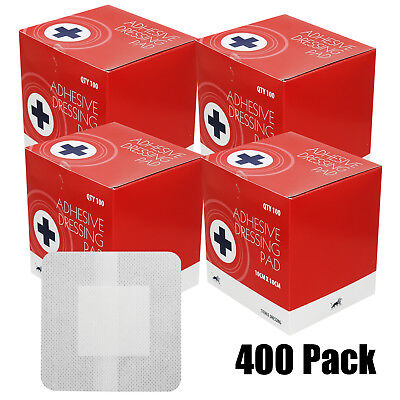 Bulk Buy 400 Extra Large Sterile Non Woven Adhesive First Aid Plaster Dressings
