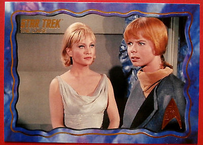 "STAR TREK TOS 50th Anniversary - ""THE CAGE"" - GOLD FOIL Chase Card #48"