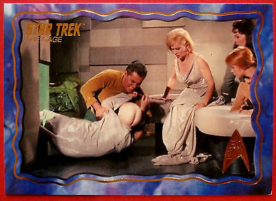 "STAR TREK TOS 50th Anniversary - ""THE CAGE"" - GOLD FOIL Chase Card #54"