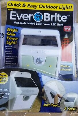 Ever Brite Led Outdoor Light - AS ON TV Everbrite Solar Powered & Wireless