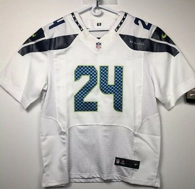 b682c52227d ... Elite Authentic Jersey White Sz 48 Raiders.