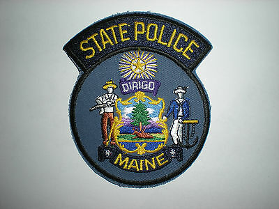 Maine State Police Patch